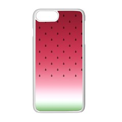Watermelon Apple Iphone 8 Plus Seamless Case (white) by jumpercat