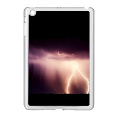 Storm Weather Lightning Bolt Apple Ipad Mini Case (white)
