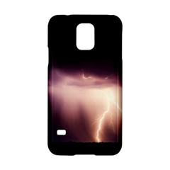 Storm Weather Lightning Bolt Samsung Galaxy S5 Hardshell Case