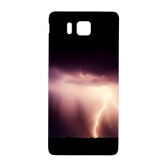 Storm Weather Lightning Bolt Samsung Galaxy Alpha Hardshell Back Case