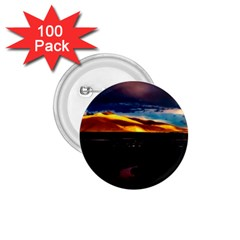 India Sunset Sky Clouds Mountains 1 75  Buttons (100 Pack)