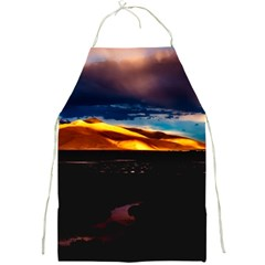 India Sunset Sky Clouds Mountains Full Print Aprons