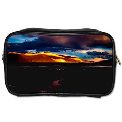 India Sunset Sky Clouds Mountains Toiletries Bags