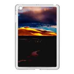 India Sunset Sky Clouds Mountains Apple Ipad Mini Case (white) by BangZart