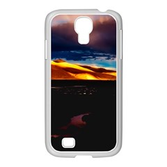 India Sunset Sky Clouds Mountains Samsung Galaxy S4 I9500/ I9505 Case (white)