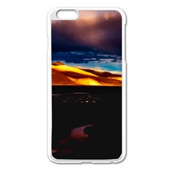 India Sunset Sky Clouds Mountains Apple Iphone 6 Plus/6s Plus Enamel White Case by BangZart