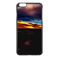 India Sunset Sky Clouds Mountains Apple Iphone 6 Plus/6s Plus Black Enamel Case by BangZart