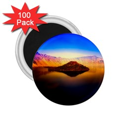 Crater Lake Oregon Mountains 2 25  Magnets (100 Pack)