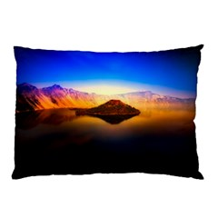 Crater Lake Oregon Mountains Pillow Case