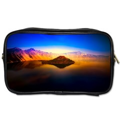 Crater Lake Oregon Mountains Toiletries Bags 2 Side
