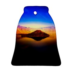 Crater Lake Oregon Mountains Ornament (bell)
