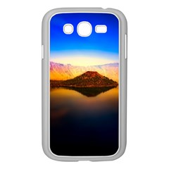 Crater Lake Oregon Mountains Samsung Galaxy Grand Duos I9082 Case (white)