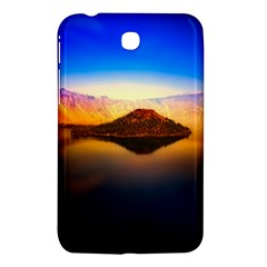 Crater Lake Oregon Mountains Samsung Galaxy Tab 3 (7 ) P3200 Hardshell Case  by BangZart