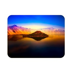 Crater Lake Oregon Mountains Double Sided Flano Blanket (mini)