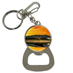 Bled Slovenia Sunrise Fog Mist Button Necklaces by BangZart