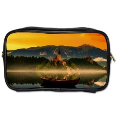 Bled Slovenia Sunrise Fog Mist Toiletries Bags