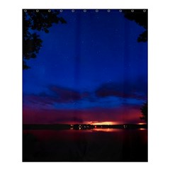 Canada Lake Night Evening Stars Shower Curtain 60  X 72  (medium)