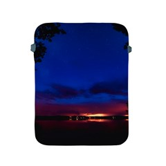 Canada Lake Night Evening Stars Apple Ipad 2/3/4 Protective Soft Cases by BangZart