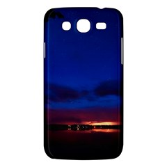 Canada Lake Night Evening Stars Samsung Galaxy Mega 5 8 I9152 Hardshell Case  by BangZart