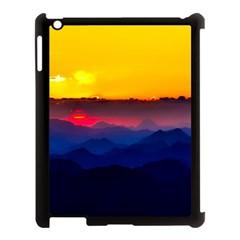 Austria Landscape Sky Clouds Apple Ipad 3/4 Case (black)