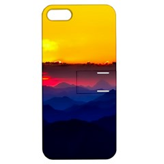 Austria Landscape Sky Clouds Apple Iphone 5 Hardshell Case With Stand