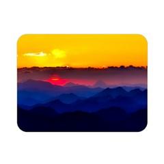 Austria Landscape Sky Clouds Double Sided Flano Blanket (mini)