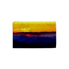 Austria Landscape Sky Clouds Cosmetic Bag (xs)