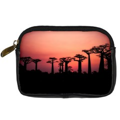 Baobabs Trees Silhouette Landscape Digital Camera Cases