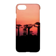 Baobabs Trees Silhouette Landscape Apple Iphone 8 Hardshell Case