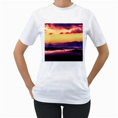 Great Smoky Mountains National Park Women s T-Shirt (White) (Two Sided)
