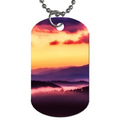 Great Smoky Mountains National Park Dog Tag (one Side) by BangZart