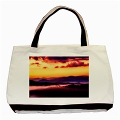 Great Smoky Mountains National Park Basic Tote Bag (Two Sides)