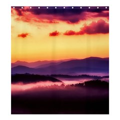 Great Smoky Mountains National Park Shower Curtain 66  x 72  (Large)