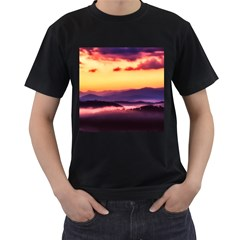 Great Smoky Mountains National Park Men s T-Shirt (Black)