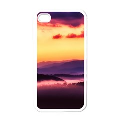 Great Smoky Mountains National Park Apple iPhone 4 Case (White)