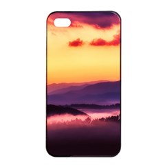 Great Smoky Mountains National Park Apple iPhone 4/4s Seamless Case (Black)