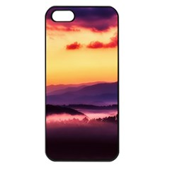 Great Smoky Mountains National Park Apple iPhone 5 Seamless Case (Black)