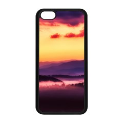 Great Smoky Mountains National Park Apple iPhone 5C Seamless Case (Black)