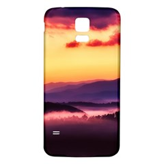 Great Smoky Mountains National Park Samsung Galaxy S5 Back Case (White)
