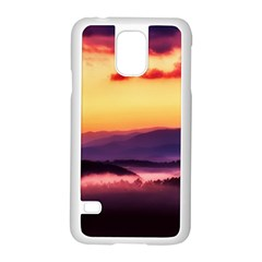 Great Smoky Mountains National Park Samsung Galaxy S5 Case (white)