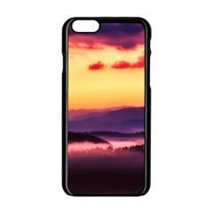 Great Smoky Mountains National Park Apple iPhone 6/6S Black Enamel Case