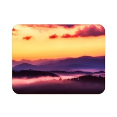Great Smoky Mountains National Park Double Sided Flano Blanket (Mini)