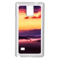 Great Smoky Mountains National Park Samsung Galaxy Note 4 Case (white) by BangZart