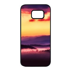 Great Smoky Mountains National Park Samsung Galaxy S7 Edge Black Seamless Case by BangZart