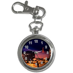 San Francisco Night Evening Lights Key Chain Watches