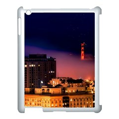 San Francisco Night Evening Lights Apple Ipad 3/4 Case (white)