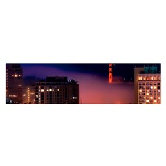 San Francisco Night Evening Lights Satin Scarf (oblong)