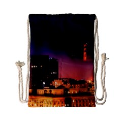 San Francisco Night Evening Lights Drawstring Bag (small)