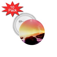California Sea Ocean Pacific 1 75  Buttons (10 Pack) by BangZart