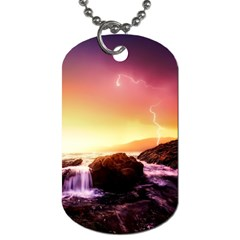 California Sea Ocean Pacific Dog Tag (two Sides) by BangZart